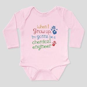 Future Chemical Engineer Long Sleeve Infant Bodysu