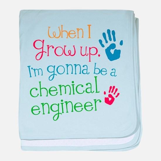 Future Chemical Engineer baby blanket