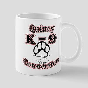 Quincy K-9 Connection Logo Mug