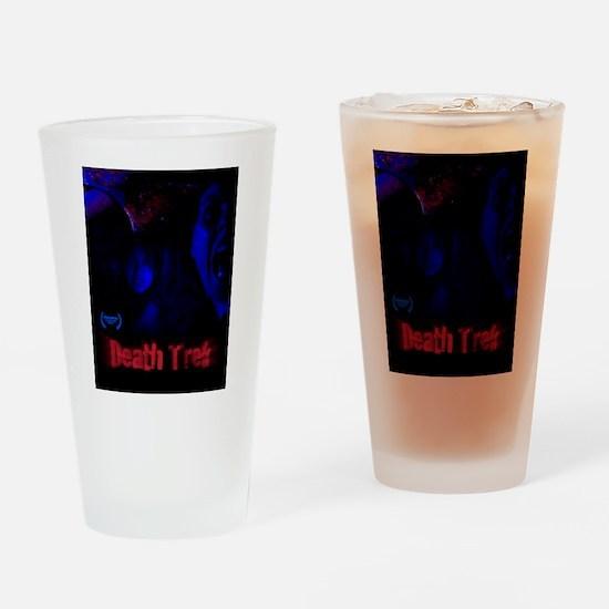 Death Trek Poster Drinking Glass