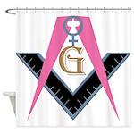 Lady Freemasons Shower Curtain