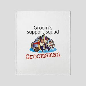 Groomsman Throw Blanket