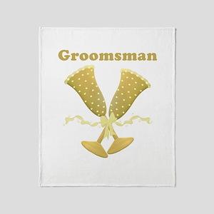 Groomsmen Throw Blanket