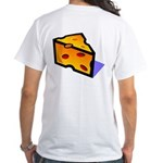 'Big Cheese' back/front White T-Shirt