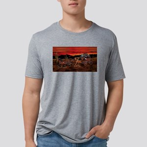 Stagecoach Cowboys Mens Tri-blend T-Shirt