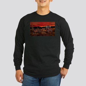 Stagecoach Cowboys Long Sleeve T-Shirt