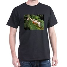 Flor en Barichara Black T-Shirt