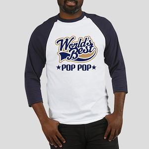 World's Best PopPop Baseball Jersey