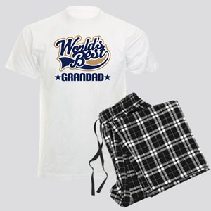 Worlds Best Grandad Men's Light Pajamas