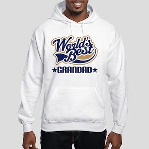 Worlds Best Grandad Hooded Sweatshirt