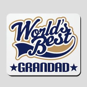 Worlds Best Grandad Mousepad