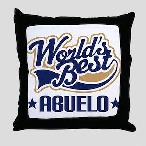 Worlds Best Abuelo Throw Pillow