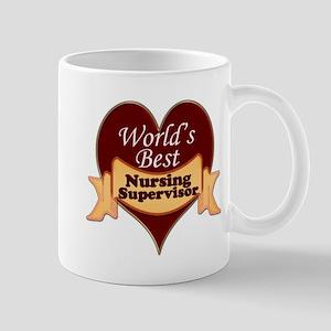 Worlds Best Nursing Supervisor Mugs
