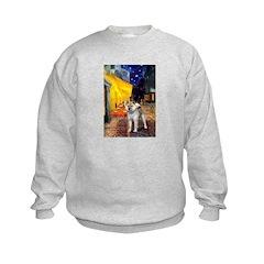 Cafe - Shiba Inu (std) Sweatshirt