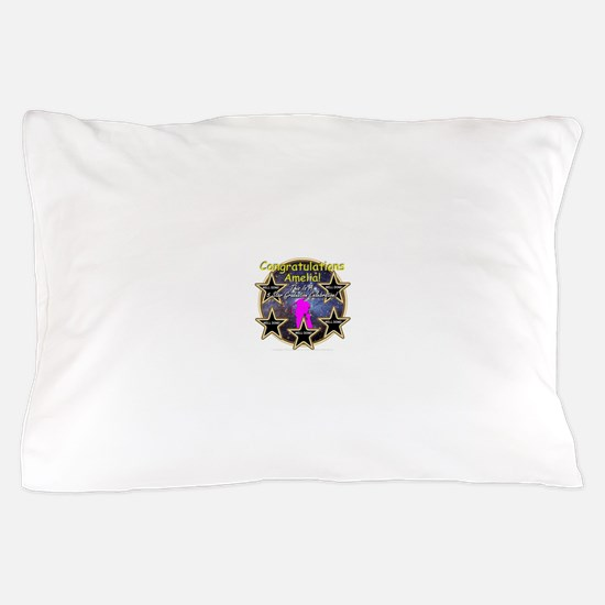Grad Girls Amelia: 0002 Pillow Case