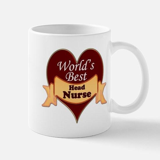 Funny Head nurse Mug