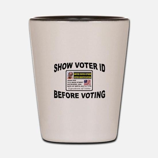 VOTER FRAUD Shot Glass