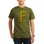 2012 Father of the Year Organic Men's T-Shirt (dar