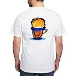 Pop Art - 'Tea Cup' White T-Shirt