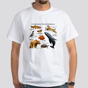 California State Animals White T-Shirt