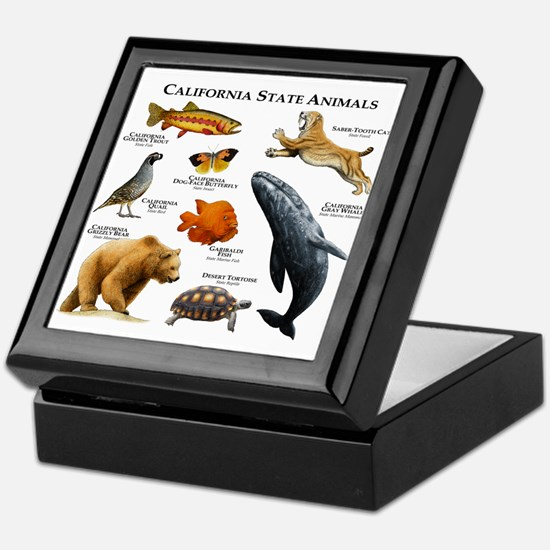 California State Animals Keepsake Box