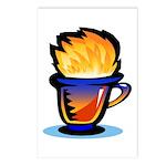 Pop Art - 'Tea Cup' Postcards (Package of 8)
