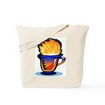 Pop Art - 'Tea Cup' Tote Bag