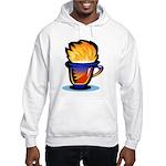 Pop Art - 'Tea Cup' Hooded Sweatshirt