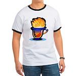 Pop Art - 'Tea Cup' Ringer T