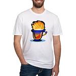 Pop Art - 'Tea Cup' Fitted T-Shirt