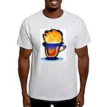 Pop Art - 'Tea Cup' Ash Grey T-Shirt