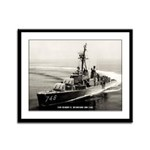 USS HARRY E. HUBBARD Framed Panel Print