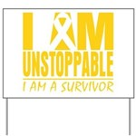 Unstoppable Neuroblastoma Yard Sign