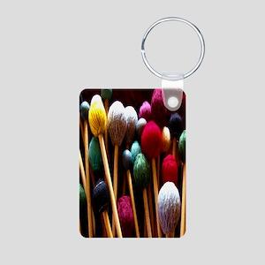 Mallets Aluminum Photo Keychain