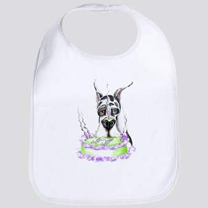 Dane Birthday Harlequin Bib