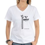 This Is My Murrsuit Women's V-Neck T-Shirt