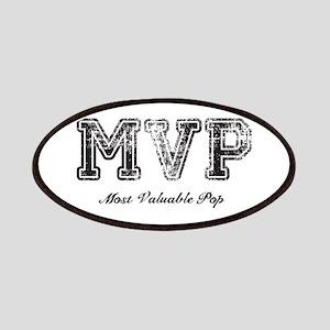 Most Valuable Pop – MVP – Black Patches