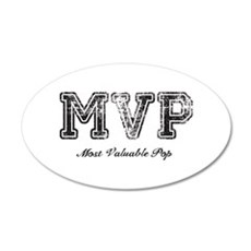 Most Valuable Pop – MVP – Black Wall Decal
