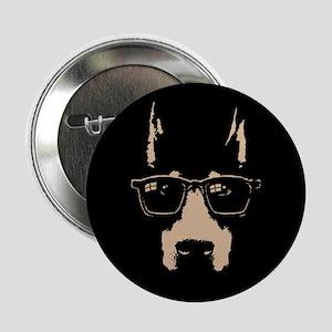 """Dobe Glasses 2.25"""" Button"""