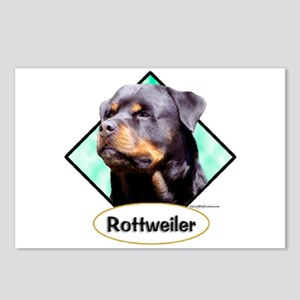 Rottie 3 Postcards (Package of 8)