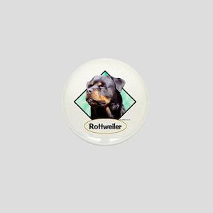 Rottie 3 Mini Button
