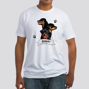 Rottie 4 Fitted T-Shirt