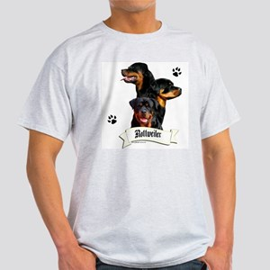 Rottie 4 Ash Grey T-Shirt