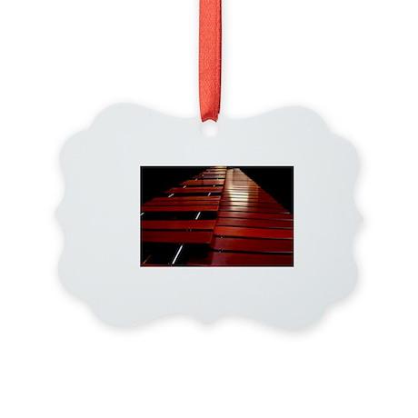 Marimba Picture Ornament
