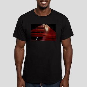 Marimba Men's Fitted T-Shirt (dark)