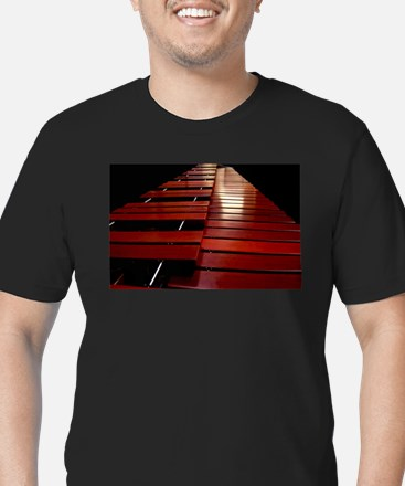 Marimba Men's Fitted T-Shirt (dark)