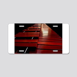 Marimba Aluminum License Plate