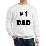 #1Dad (Blck) Sweatshirt