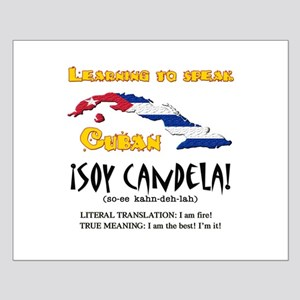 soy candela copy Small Poster
