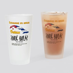 que bola copy Drinking Glass